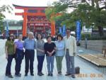 第13回韓国総聯盟ソウル特別市地域本部代表団の来日 (2)